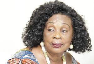 Veteran actress Grace Omaboe