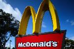 Logo of global fast-food giant McDonald's