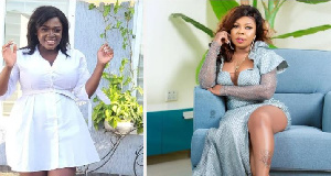 I bought the car myself - Afia Schwarzenegger reacts to Tracey Boakye's claims