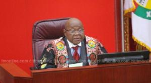 Speaker of Parliament, Prof. Mike Oquaye