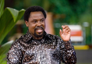 T.B Joshua is the leader and founder of the Synagogue Church of All Nations
