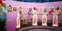 CPP presidential hopefuls at debate