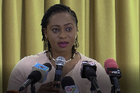 Minister of State In-charge of Public Procurement, Sarah Adwoa Safo