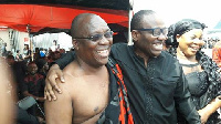 Kwesi Nyantakyi  and GHALCA boss, Cudjoe Fianoo