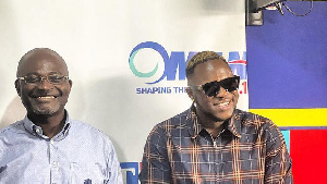 Member of Parliament for Assin Central Kennedy Agyapong and rapper Medikal