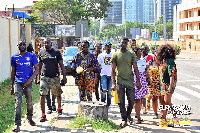 GlennSamm and friends spend time with the less privileged on the streets of Accra