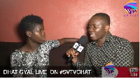 Dhat Gyal in an interview on SVTV Africa