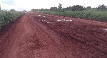The road leading to the newly commissioned Weta District Hospital