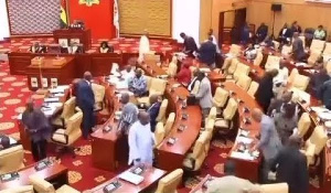According to the Minority Chief Whip the house lacked a quorum to take decisions on the Bill