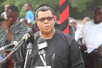 Goosie Tanoh is aspiring to lead the NDC to the 2020 polls