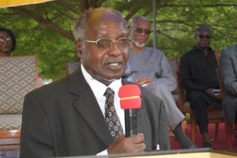 Former Vice Chancellor of the University of Ghana, Prof. Ivan Addai Mensah
