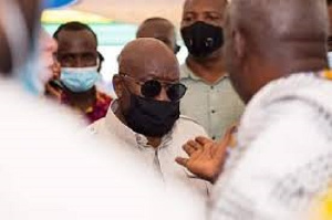 President Akufo-Addo was recently in the area to initiate the construction of a district hospital