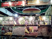 Ghana's exhibition stand