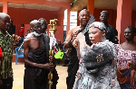 During the ceremony she was carried across the principal streets of Kwahu Bepong