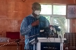 Dr Prince Quarshie is the Municipal Director of Health