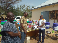 World Vision Ghana  presented the equipment to the Upper East Regional Health Directorate