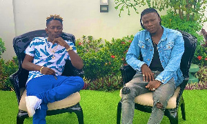 Dancehall musicians Stonebwoy and Shatta Wale