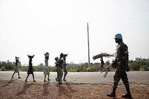 Central Africa  Staff Attack