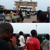 Good Friday Miracle Service was organised at the Black Stars Square