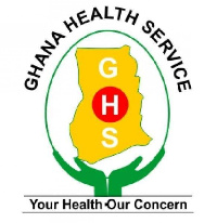 The Ghana Health Service (GHS) logo
