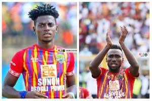Caleb Amankwah and Emmanuel Nettey are both injured