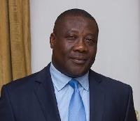 President of the Ghana Bar Association, Benson Nutsukpui