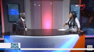 Hon Aponkye was a speaking to Nana Aba Anamoah on GHOne TV