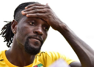Togolese football star, Emmanuel Adebayor