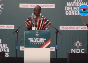 General Secretary Johnson Asiedu Nketiah