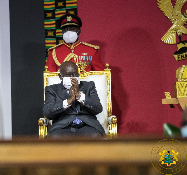 President Akufo-Addo stresses national unity as he begins second term
