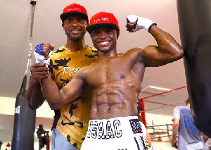 Former World Champion, Isaac Dogboe