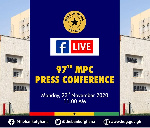 LIVESTREAMED: Bank of Ghana's 97th MPC press conference