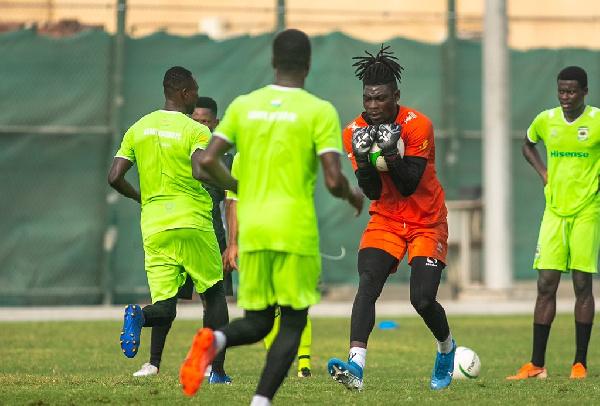 PHOTOS: Asante Kotoko starts pre-season training in Dubai