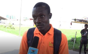 A Ghanaian sharing his view on the topic
