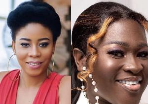 Ghanaian musicians Dede Supa and Sister Afia