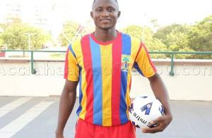 Former Hearts of Oak player, Joseph Esso