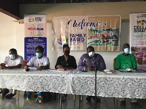 The event was used to sensitize Ghanaians on the plight of OVCs