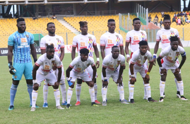 MTN FA Cup: Hearts arrive in Elmina with 21-man squad
