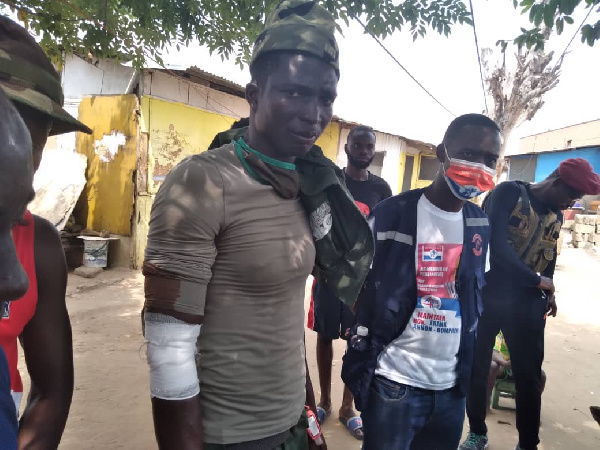 NDC accused of disrupting NPP\'s peace march with gunshots at Nsawam-Adoagyiri