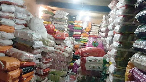 Some Of The Low Quality Rice In The Warehouse