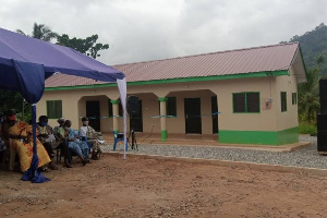 Gojiase Community Health Planning Services (CHPS) Compound