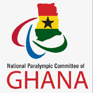 Logo of the Ghana National Paralympic Committee