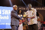 Kofi Addo-Agyekum receives his accolade