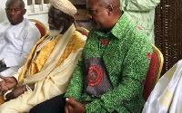 Chief Imam Sheikh Dr Osmanu Nuhu Sharubutu paid a courtesy call on President Mahama