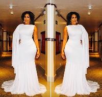 Ghanaian actress of Lebanese and Liberian descent, Juliet Ibrahim