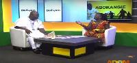 Hosts Omanhene Kwabena Asante and Nana Yaa Brefo