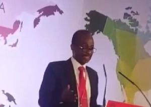 General Secretary of the National Democratic Congress (NDC), Johnson Asiedu Nketiah