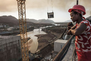 The Grand Ethiopian Renaissance Dam is set to become the largest hydropower plant in Africa