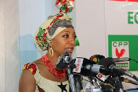 Samia Yaba Nkrumah, National Chairperson-CPP