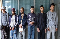 The six Tunisian stowaways